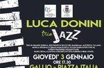 Live-Musik an Gallium mit Luca Donini Jazz Trio-3 Dezember 2019