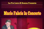 Mario Fabris in Konzert im 19. August 2016 um 360 °, Roana, italienische Musik