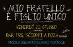 Konzert MIO FRATELLO È FIGLIO UNICO, Omaggio a Rino Gaetano, 13 Juni Foza