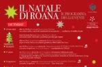 IL NATALE DI ROANA, Programm Weihnachten Veranstaltungen 2014-2015