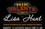 Concerto Nik Valente e Lisa Hunt a Roana il 13 agosto 2016, Altopiano di Asiago