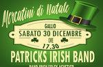 Aperitivo in Musica Gallium mit Patricks Irish Band bis 30. Dezember 2017