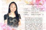 Recital della giovane pianista Lucia IIjima ad Asiago - 17 agosto 2018