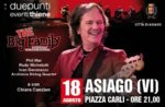 Red Canzian  in concerto ad Asiago