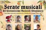 Serata musicale con i Giovanissimi Musicisti Altopianesi ad Asiago - 7 agosto 2020