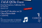 Concerto Talk of da town a Canove