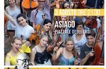 """""""Trommeln des Friedens 2.0""""-Konzert von Paolo Rumiz und das Jugendorchester der europäischen Geistes bei Asiago-3 August 2018"""