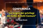 conferenza le origini privilegi sette comuni