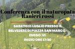 Cosa ci raccontano le piante? - Incontro con il naturopata Ranieri Rossi ad Enego - 11 luglio 2020