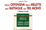 """Sitzung """"Aus dem Kampf der drei Schlachten Melette Monti"""" in Asiago-5 August 2018"""