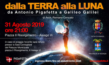From Earth to the Moon - From Antonio Pigafetta to Galileo