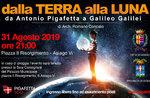 """""""Von der Erde zum Mond - Von Antonio Pigafetta nach Galileo Galilei"""" nach Asiago - 31. August 2019"""