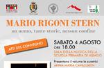 """Präsentation des Tagungsbandes """"Mario Rigoni Stern-ein Mann, so viele Geschichten, keine Grenze"""" bei Asiago-4 August 2018"""