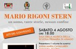 """Presentation of the Conference proceedings """"Mario Rigoni Stern-a man, so many stories, no border"""" at Asiago-4 August 2018"""