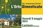 Präsentation Seminar VERGESSEN GARTEN Der Garten vergessene 9. Mai Lusiana