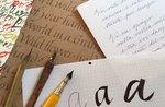 Kalligraphie-Klasse in Asiago mit Kalligraph Anne Sadiki-14 April 2019