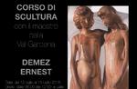 Skulptur-Kurs mit Meister Demez Ernest ein in Treschè Becken, Donnerstag, 15 Juli von 12-Asiago Hochebene-2018