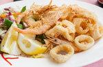 Abendessen mit Fisch Braten nur 15 € im Ristorante Pizzeria La Quinta 2002-24. juli 2018