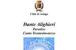 Kritische Lektüre der Göttlichen Komödie von Salvatore Memoli Asiago, 7. Dezember 2019