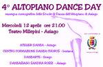 4° Highland Dance choreographischen Tanz Schultag-Ausstellung von der Hochebene von Asiago, 12. April 2017