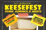 Keese Fest 2016, Käse auf dem Platz in Roana, Hochebene von Asiago 21 August