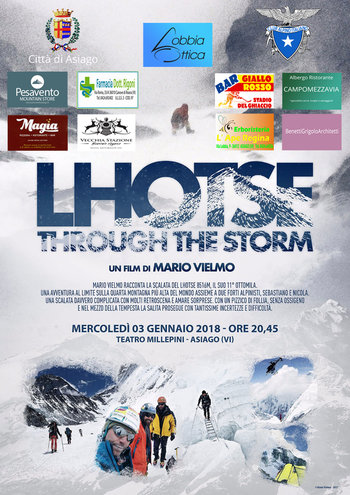 Lhotse through the storm ad Asiago