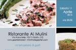Frühling auf dem Tisch Restaurant Ai Mulini, Asiago Hochebene, 11. April 2015