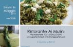 Frühling auf dem Tisch Restaurant Ai Mulini, Gallium, 16. Mai 2015