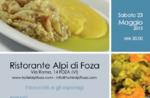 Frühling im Alpenrestaurant Tabelle Foza, 23. Mai 2015