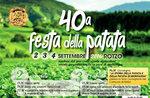 40ª Festa della Patata di Rotzo 2016, Altopiano di Asiago 2-4 Settembre 2016