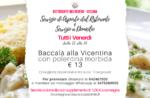 Kabeljau zum Mitnehmen in Vicentina oder jeden Freitag zu Hause - Restaurant Belvedere in Cesuna
