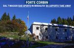 FORTE CORBIN Takeaway Bar Service auf dem Asiago Plateau