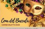 Carnival 2020 - Cod es Dinner im Restaurant Belvedere in Cesuna - 26. Februar 2020