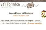 Abendessen im Geschmack des Restaurants Rifugio Val Ant, Lärche Top 14/06