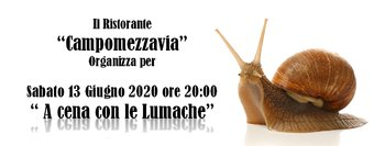 cena lumache campomezzavia 2020