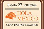 Cena MESSICANA al Ristorante Baita Al Maddarello, Asiago 27 settembre