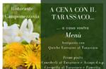 Cena a base di tarassaco da asporto o a domicilio del Ristorante Campomezzavia di Asiago - 16 maggio 2020