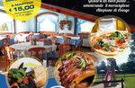 Zurück das Gebot mit gebratenen Fisch im Restaurant La Quinta 2002-29 August 2017