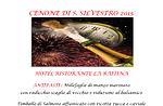 Cenone di San Silvestro al Ristorante La Baitina di Asiago, Capodanno 2016