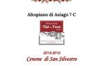 Cenone di San Silvestro 2015-2016 al Ristorante Alpi - Foza, Altopiano di Asiago