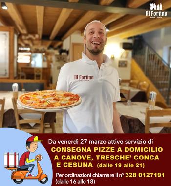 consegna pizze a domicilio roana coronavirus covid