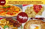 Servizio consegna a domicilio e asporto Pizza e Ristorante Magia Asiago per emergenza Coronavirus Covid19