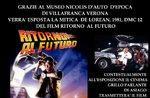 """""""Back to the Future"""" DeLorean Ausstellung auf Gran Cafè Adler di Asiago-8 Dezember 2018"""