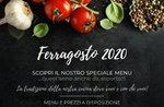 Spezielles Menü im August, auch zum Mitnehmen - Restaurant Belvedere von Cesuna