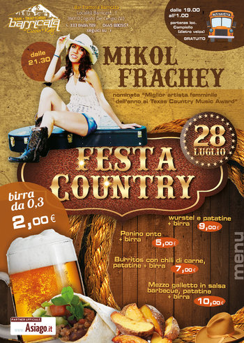 Festa country alla Barricata - Altopiano di Asiago