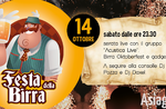 Beer Festival-Themennacht auf der Lounge-Bar La Quinta 2002 am Asiago Hochebene-14 Oktober 2017