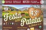 43^ Festa della Patata di Rotzo 2019 - Altopiano di Asiago - Dal 30 agosto al 1 settembre 2019