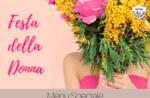 Festa della donna 2019 - Il menu del ristorante Belvedere di Cesuna - 8 marzo 2019
