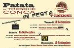 Patata di Treschè Conca in festa - Dal 13 al 15 settembre 2019