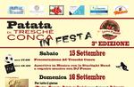 Patata di Treschè Conca in festa - 15 e 16 settembre 2018